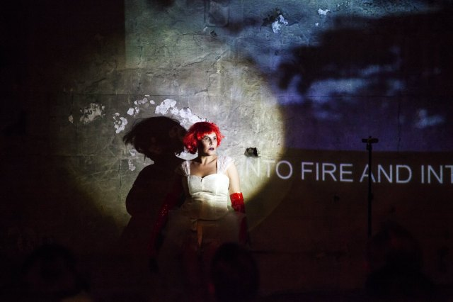 Performing 'The Fall' at The Bloody Poets: Inferno